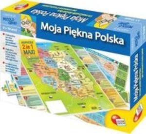Puzzle Mały geniusz Moja piękna Polska 108 - 2825798698