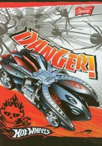 Zeszyt Hot Wheels A5 w linie 32 kartki Danger! - 2857664051