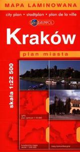 Kraków. Plan miasta w skali 1:22 500 - 2825658031