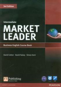 Market Leader Intermediate Business English Course Book + DVD - 2825800627