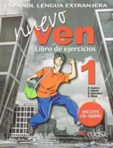 Nuevo Ven 1 ćwiczenia + CD - 2857668966