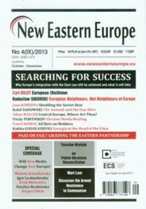New Eastern Europe 4/2013 Searching for Success - 2857669140