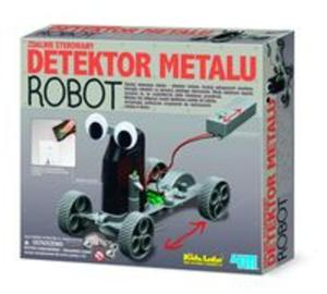 Zdalnie sterowany detektor metalu - robot - 2857669177