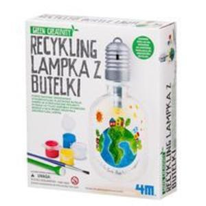 Recykling Lampka z butelki - 2825804700