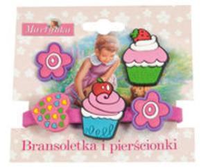 Martynka Bransoletka i pierścionki 2 (z babeczką truskawkową) - 2825806627
