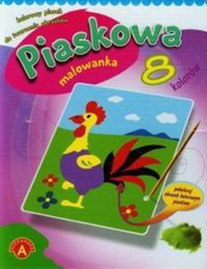 Piaskowa malowanka mini kogut - 2857673290