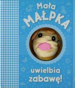 Mała małpka uwielbia zabawę - 2857673511
