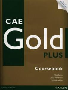 CAE Gold Plus Coursebook z płytą CD i kodem iTests - 2857674554