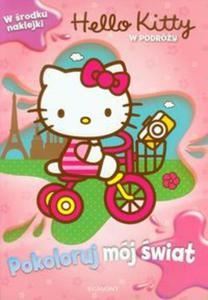 Pokoloruj mój świat Hello Kitty W podróży