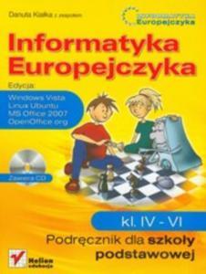 Informatyka Europejczyka Podręcznik 4-6 z płytą CD - 2825659087