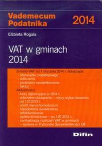 Vademecum Podatnika 2014 VAT w gminach 2014