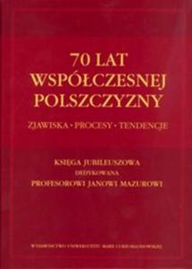 70 lat współczesnej polszczyzny