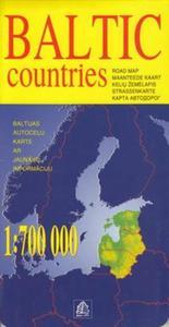 Kraje Bałtyckie mapa 1:700 000 - 2857680473