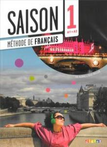 Saison 1 podręcznik + CD Audio + DVD poziom A1-A2