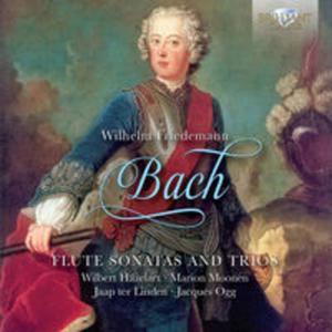 W. F. BACH: FLUTE SONATAS AND TRIOS - 2857681761