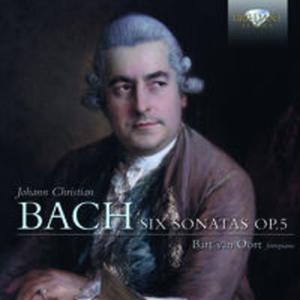 J. C. BACH: SIX SONATAS OP. 5 - 2825817290