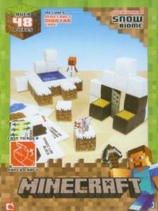 dfe040357 Minecraft Papercraft Zestaw śnieżny świat - 2857681996