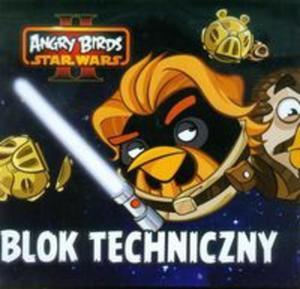 Blok techniczny A4 10 kartek Angry Birds - 2825818304