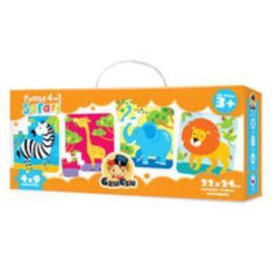 CzuCzu Puzzle 4w1 Safari - 2825819336