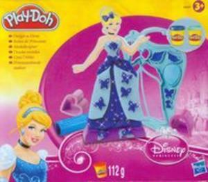 Play-Doh Zestaw projektantki Disney niebieski - 2825820426