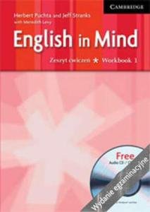 English in Mind Polish Exam Ed 1 WB with Audio CD/CDROM