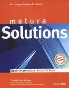 Matura Solutions. Upper- Intermediate. Student`s Book.