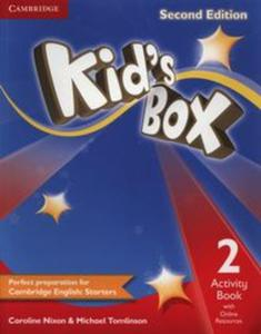 Kids Box 2 Activity Book with online resources - 2825822978