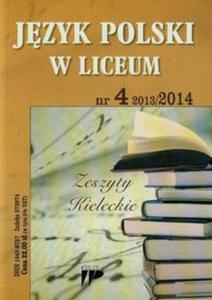 Język Polski w Liceum 13/14 numer 4 - 2825823554