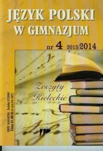 Język Polski w Gimnazjum 13/14 numer 4 - 2825823555