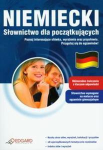 Niemiecki Słownictwo dla początkujących