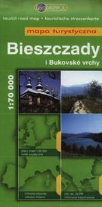 Bieszczady i bukovske vrchy Mapa turystyczna 1:70 000 - 2825823765