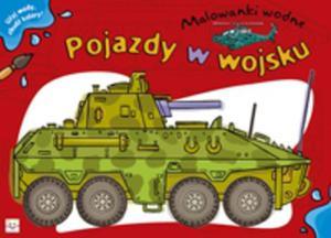 Pojazdy w wojsku Malowanki wodne