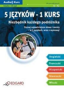 Niezbędnik każdego podróżnika 5 języków - 1 kurs - 2825660099
