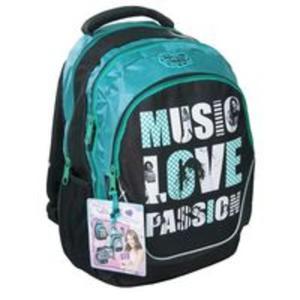 Plecak szkolny Violetta Music love passion - 2825829378