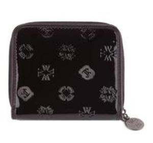 Średni portfel damski z kolekcji Signature czarny - 2857695420