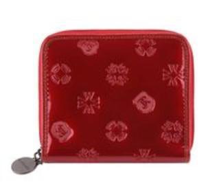 Średni portfel damski z kolekcji Signature czerwony - 2857695421