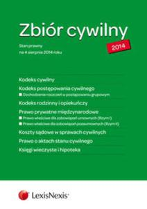 Zbiór cywilny STANDARD 2014 - K.C., K.P.C., K.R.O., P.P.M., K.S.C., A.S.C., K.W.H. - 2857697597