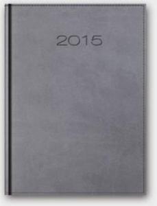 Kalendarz 2015 A4 31DR duży dzienny szary