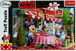Puzzle 160 Minnie Mouse W kawiarni - 2857698549