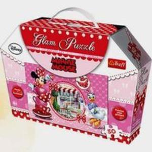Minnie Mouse Puzzle Glam 50 elementów - 2857698807
