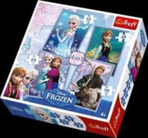 Puzzle 4w1 Frozen - 2857699183