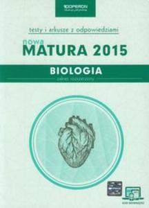 Biologia Nowa Matura 2015 Testy i arkusze z odpowiedziami Zakres rozszerzony ze zdrapką - 2825835295
