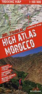 High Atlas Morocco Trekking map 1:100 000 - 2857700218