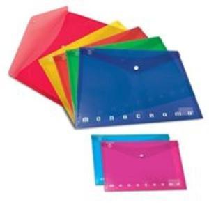 Teczka na dokumenty zapinana zatrzaskiem A4 Pigna Monocromo mix kolorów - 2857700539