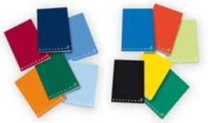 Zeszyt A4 Pigna Monocromo gładki 42 kartki mix kolorów - 2857700705