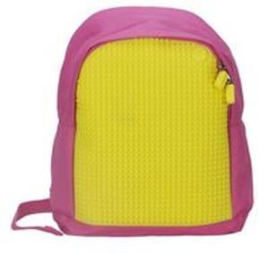 02a65a92dd9e0 Plecak dla dzieci Pixel Bags różowo-żółty - 2857701934