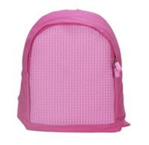 b98bfccd645a3 Plecak dla dzieci Pixel Bags różowy - 2857701935