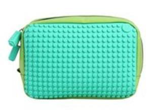 53e17570ad09d Kosmetyczka Pixel Bags wodoodporna zielono-turkusowa - 2857701946