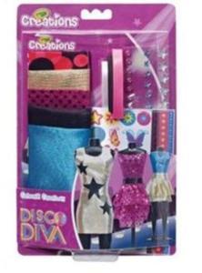Crayola Creations Dom mody Disco Diva - 2825837547