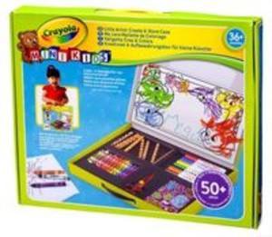 Crayola Mini Kids Walizka z przyborami - 2851022570